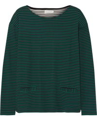Chinti And Parker Breton Striped Organic Cotton Top - Lyst