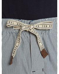 Ted Baker   Striped Woven Pyjama Set   Lyst
