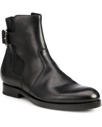 Pierre Hardy Leather Chelsea Boots - Lyst