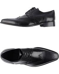 Rochas Lace-up Shoes - Black