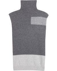 McQ by Alexander McQueen Sleeveless Turtleneck Sweater - Lyst