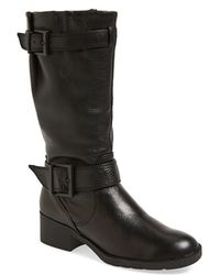 Kenneth Cole - Podington Knee-High Leather Boots  - Lyst