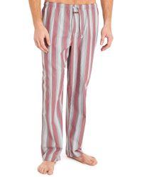 Calvin Klein Red Stripe Pyjama Pant - Lyst