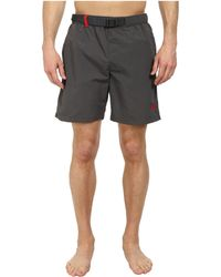 The North Face Class V Belted Trunk gray - Lyst