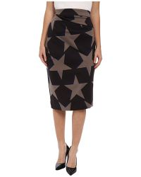 Vivienne Westwood Anglomania Isolation Jersey Skirt - Lyst