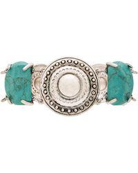 Sam Edelman - Stone Disc Bracelet - Lyst