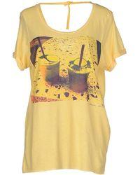 Maison Scotch T-Shirt - Lyst