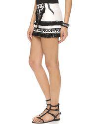 Twelfth Street Cynthia Vincent - Tribal Miniskirt - Ivory - Lyst