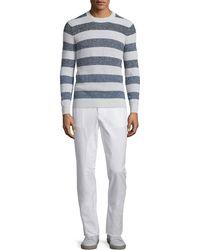Brunello Cucinelli   Flat-front Cotton Pants   Lyst