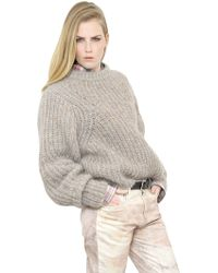 Isabel Marant Wool Blend Sweater - Lyst