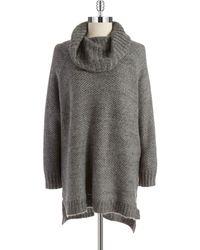 DKNY Honeycomb Knit Sweater - Lyst