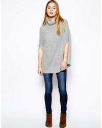 Hilfiger Denim - Camelia Cape Sweater - Lyst