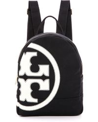 Tory Burch Canvas Backpack  - Lyst