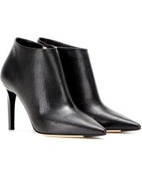 Jimmy Choo Hart Embossed Leather Ankle Boots - Black