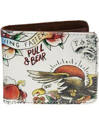 Pull&Bear - Wallet with Tattoo Print - Lyst