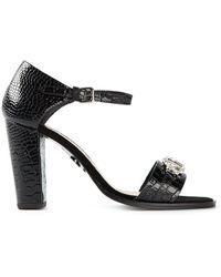 81fa785579 Markus Lupfer - Crystal Embellished Sandals - Lyst