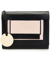 Pierre Hardy Bi-colour Leather Shoulder Bag - Lyst