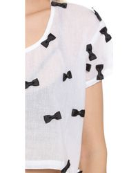 Lolli - Cookie Cover Up Top - Bows - Lyst