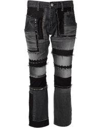 Junya Watanabe Embellished Jeans - Lyst