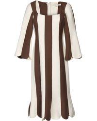 Marc Jacobs 34 Length Dress - Lyst