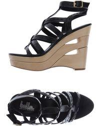 Belle By Sigerson Morrison Sandals black - Lyst