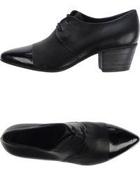Vic Matie' Lace-Up Shoes black - Lyst
