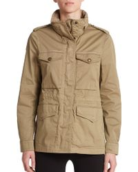 Burberry Brit Marshdale Jacket brown - Lyst