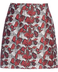 Rodarte Mini Skirt - Lyst