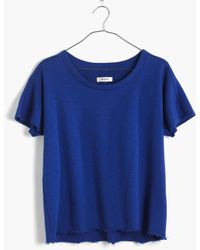 Madewell Sleeveless Sweatshirt - Lyst