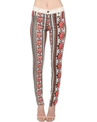 James Jeans Twiggy Print Tapestry Jean - Lyst