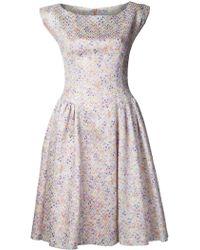 Barbara Tfank - Byzantine Cloque Dress - Lyst