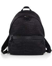 Fendi Zaino Nylon & Leather Backpack - Lyst