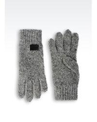 Armani Jeans - Wool Glove - Lyst