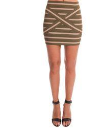 Pleasure Doing Business | Pleasure Doing Buisness Cross Band Skirt | Lyst
