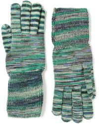 Missoni Crochet Knit Gloves - Lyst
