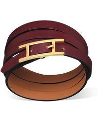 Hermès Hapi 3 Mm red - Lyst