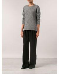 Michael Kors Grommet Sweater - Lyst