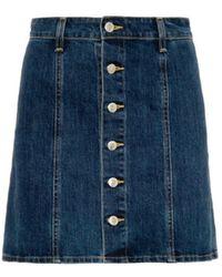 Alexa Chung For AG The Kety Denim Skirt - Lyst