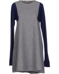 Balenciaga Black Short Dress - Lyst