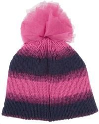 House Of Holland New Era Sequined Knitted Bobble Hat - Lyst