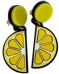 Yazbukey Lemon Earring - Yellow