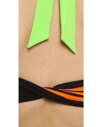 Y-3 - Light Flash Bikini Top - Light Flash Green - Lyst