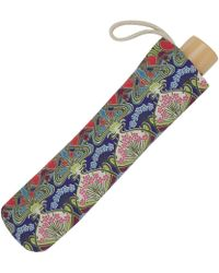 London Undercover - Ianthe Liberty Print Compact Umbrella - Lyst