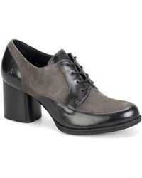 Born - Gamber Leather And Suede Oxfords - Lyst