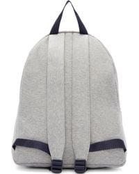 Joshua Sanders Grey Jersey Ny Backpack - Gray