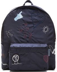 Carven - Mens Embroidered Backpack - Lyst