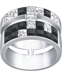 Swarovski Viktor and Rolf Frozen Crystals Wide Ring - Lyst