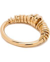Chloé Brass Freja Bracelet - Lyst