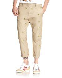 DSquared² Banana Hockney Chino Pants - Lyst