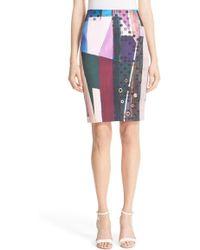 Clover Canyon   'nouveau Facade' Pencil Skirt   Lyst